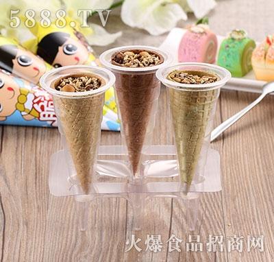 脆淇淋三味透明