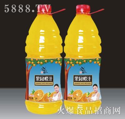 2L今谷果园橙汁