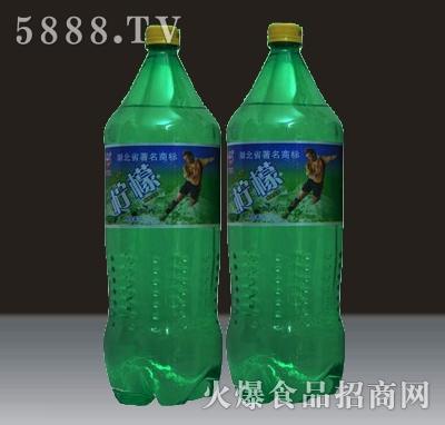 2L贵海泉柠檬味碳酸饮料