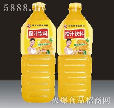 2L贵海泉橙汁饮料