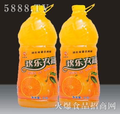 2.5L贵海泉欢乐农蔬果汁饮料