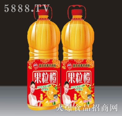 2.58L贵海泉果粒橙