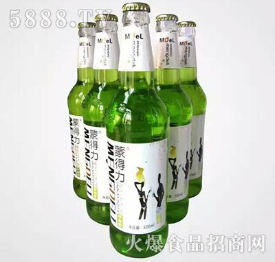 500ml蒙得力大汽泡饮品(苹果味)碳酸饮料