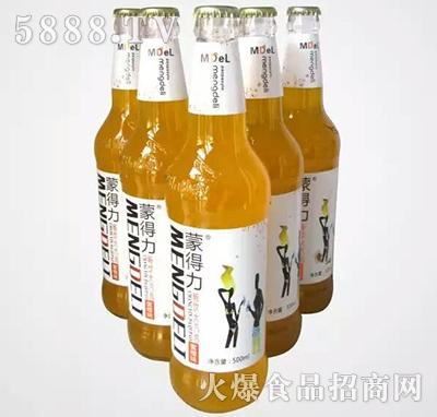 500ml蒙得力大汽泡饮品(蜜橙味)碳酸饮料