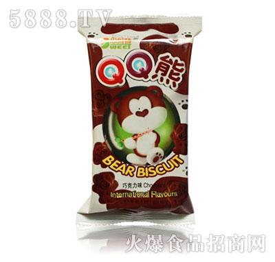 思维特QQ熊巧克力味饼干