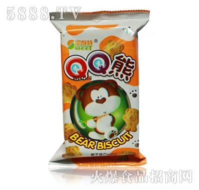 思维特QQ熊椰子味饼干