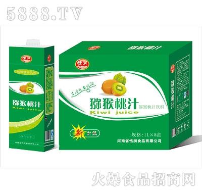 恬润猕猴桃汁饮料1LX8盒