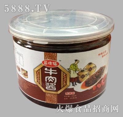 盛德福牛肉酱香辣味400g