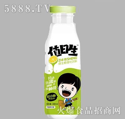 值日生维生素强化饮料青桔味380ml