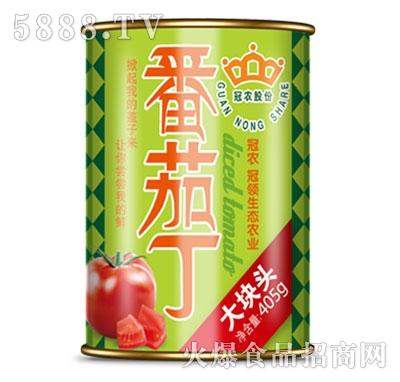 冠农股份番茄丁405g