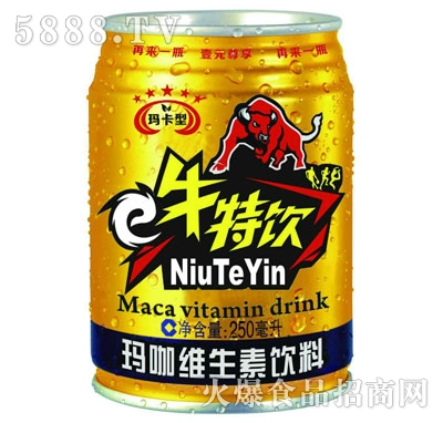 牛特饮玛咖维生素饮料250ml