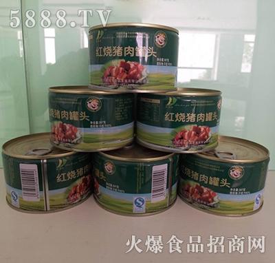 品可品红烧猪肉罐头397g