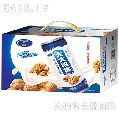 240mlx20罐经旺大大核桃礼盒