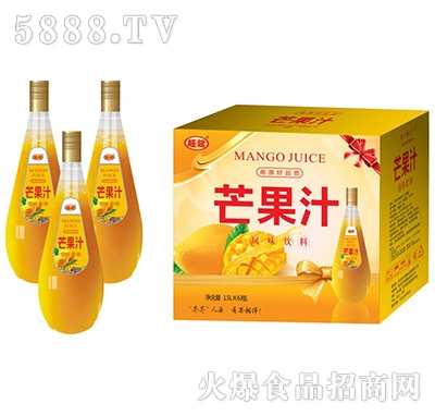 1.5Lx6瓶旺鹫芒果汁饮料