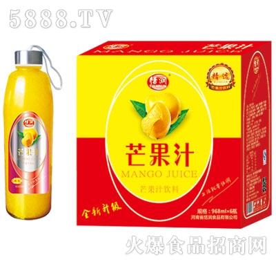 恬润968ml芒果汁