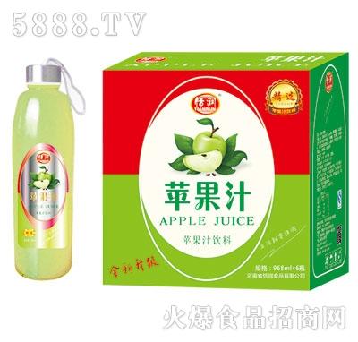 恬润968ml苹果汁