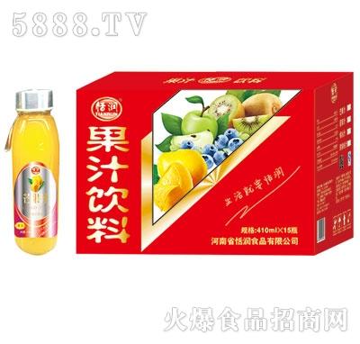 恬润410ml芒果汁