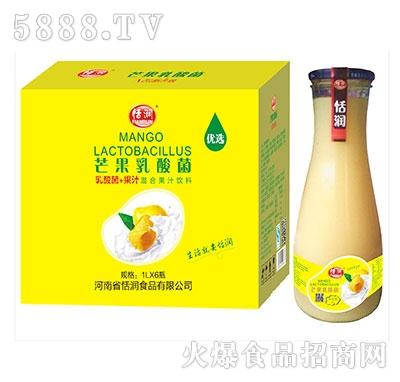 恬润芒果汁乳酸菌1Lx6瓶