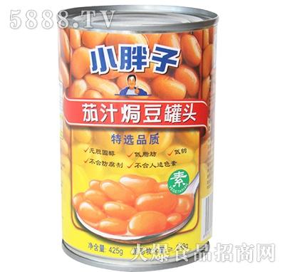小胖子茄汁�h豆罐头