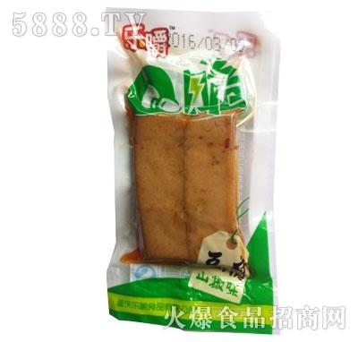 乐嚼Q脆豆腐山椒味