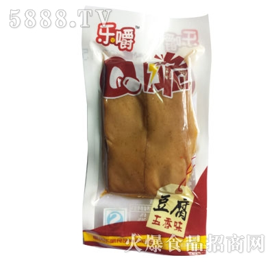 乐嚼Q脆豆腐五香味