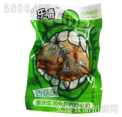 乐嚼奇葩豆干香菇味