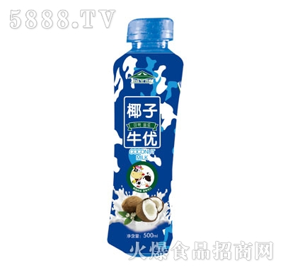 牛优椰子果汁乳味饮料500ml