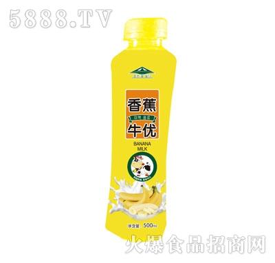 牛优香蕉果汁乳味饮料500ml