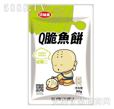 珍味来Q脆鱼饼80g