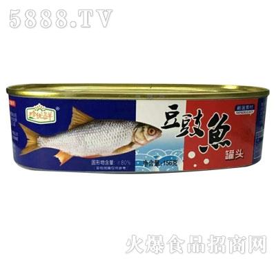 珍优鲜豆豉鱼罐头156g