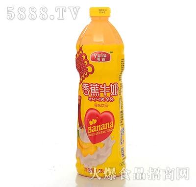 1.68L雨露香蕉牛奶乳饮料