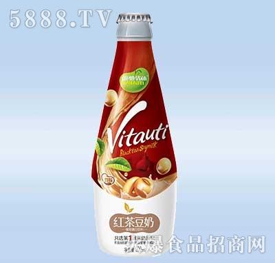 维他优体红茶豆奶300ml