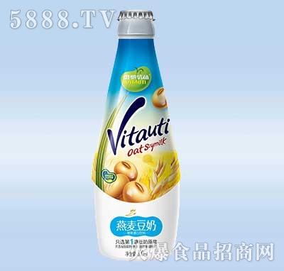 维他优体燕麦豆奶300ml