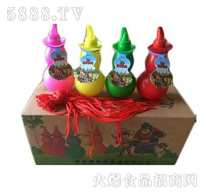 儿童饮料小葫芦箱装