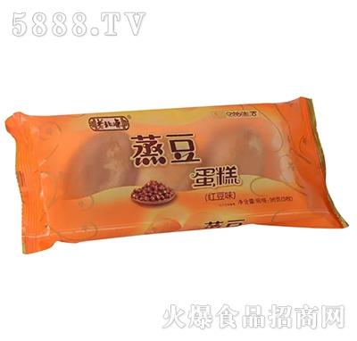 老北琼蒸豆蛋糕红豆味96g