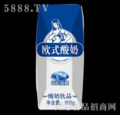 欧式酸奶200g