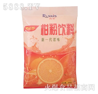 润昕柑粉饮料200g