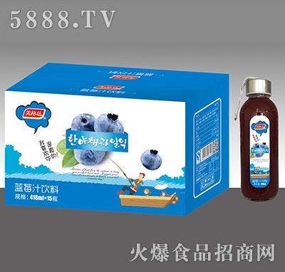 美格丝蓝莓汁饮料418mlx15瓶