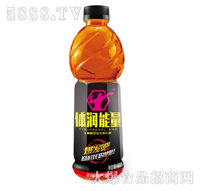 体润能量牛磺酸型维生素饮料(黑)