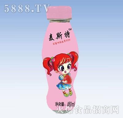 麦斯特草莓味维生素饮料460ml产品图