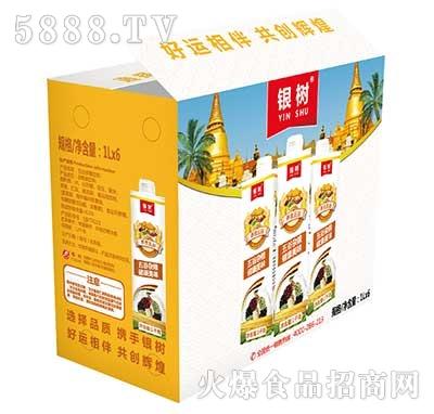 1Lx6瓶银树五谷杂粮饮料