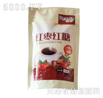 润昕红枣红糖320g