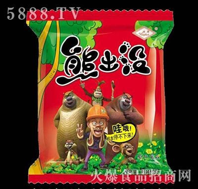 兴华熊出没膨化食品散装称重