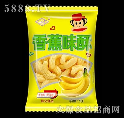 兴华香蕉味酥70g