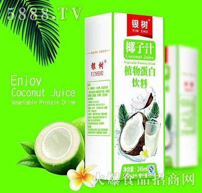银树椰子汁245ml(白盒装)