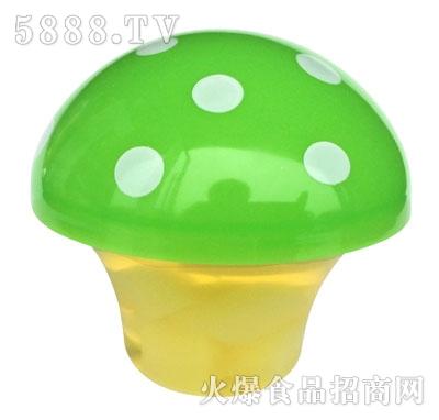 蘑菇杯装果冻(绿色)