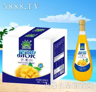 四季分享原浆芒果汁1.5Lx6