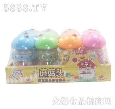果汁软糖蘑菇头规格:12支x12盒