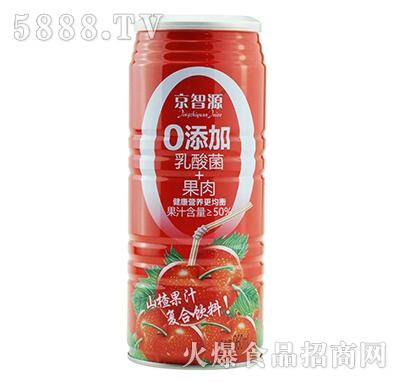 京智源0添加乳酸菌+果肉山楂汁960ml
