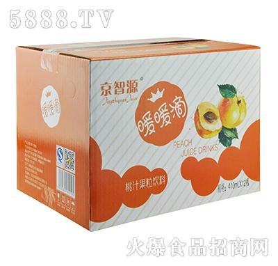 京智源玻璃杯桃果肉(暖瓶)410mlx12瓶
